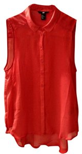 H&M Top Tomato red