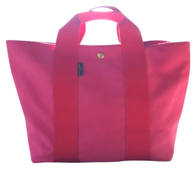 Item - Hot Pink Canvas Tote