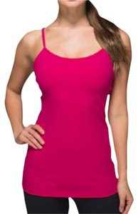 Lululemon New With Tags Lululemon Power Y Tank Jeweled Magenta Size 2