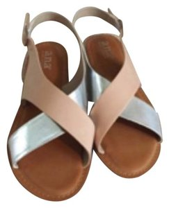 a.n.a. a new approach Beige/ silver Sandals
