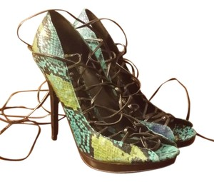 Bakers Multicolor snake Sandals