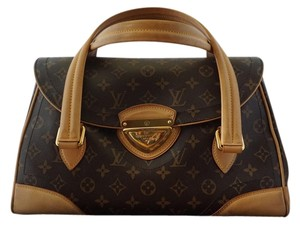 Louis Vuitton Vintage Leather Top Handle Shoulder Bag