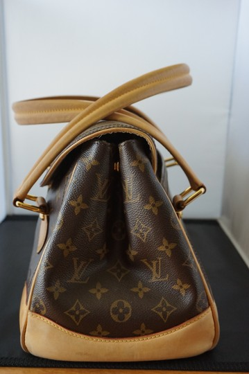 Louis Vuitton Vintage Leather Handle Shoulder Bag