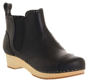 swedish hasbeens Boot Black Mules