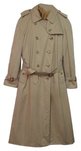 Burberry Vintage Trench Lined 12 Long Jacket Trench Coat