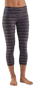 Lululemon Lulu Workout Exercise Yoga Capris Gray