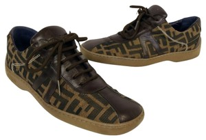 Fendi Zucca Sneaker Paris Brown Athletic