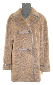 Katherine Kelly Wool&alpaca Fur Coat
