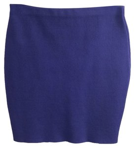 Rachel Roy Mini Skirt Royal blue