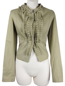 Blue Bird Blazer Fitted Tan beige Jacket