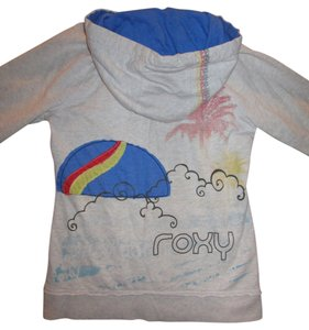 Roxy Sweatshirt Hoodie Fleece Pullover Jacket