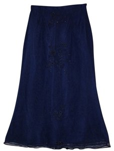 Jovani Skirt navy blue
