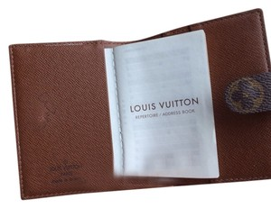 Louis Vuitton Address Book Credit Card And Business Card Holder