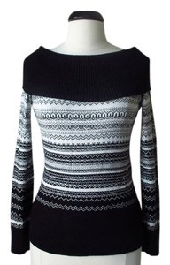 White House | Black Market Cowl Neck Nordic Sweater