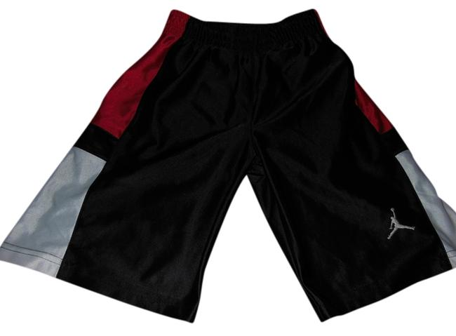 Item - Black Red White Boys Athletic Collection Activewear Bottoms Size 6 (S, 28)