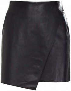 Helmut Lang J Brand Rag & Bone Mini Skirt Black