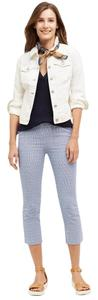 Anthropologie Classic Denim Anthro white Womens Jean Jacket