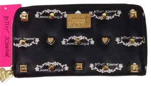 Betsey Johnson Studded Signature