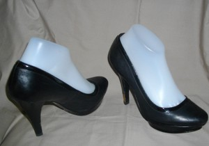 BCBG Black Platforms