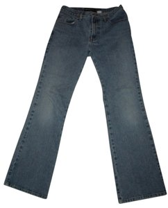 Express Long Flare Leg Jeans-Medium Wash