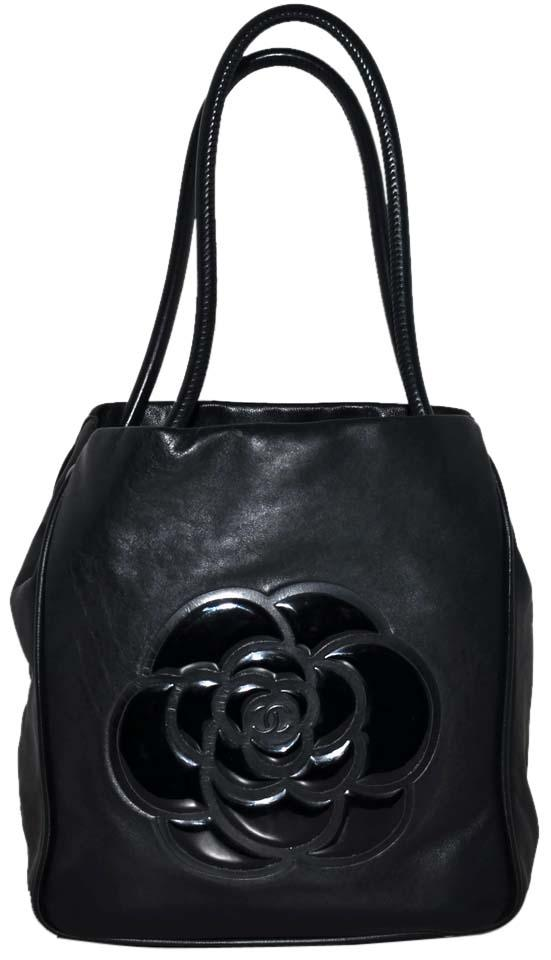 Chanel Paris Made In France Guaranteed Leather Handbag Hand Purse Per Carryall Carry All High