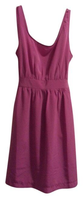Forever 21 short dress Magenta on Tradesy