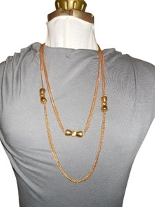 Monet Vintage Monet long double chain