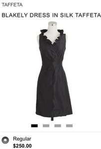 J.Crew Black Blakely Dress