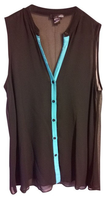 Aqua Top Sheer Black