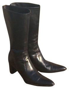 Anne Klein Made In Italy Black Boots