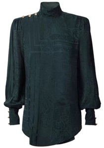 Balmain x H&M Top Dark Green