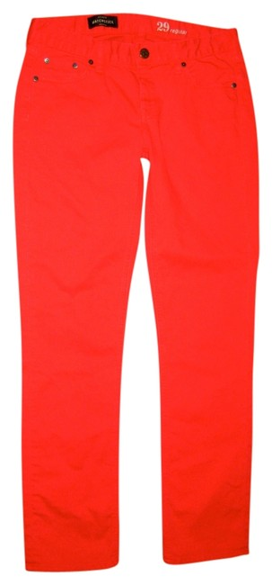 Item - Cherry Red Matchstick Straight Leg Jeans Size 29 (6, M)