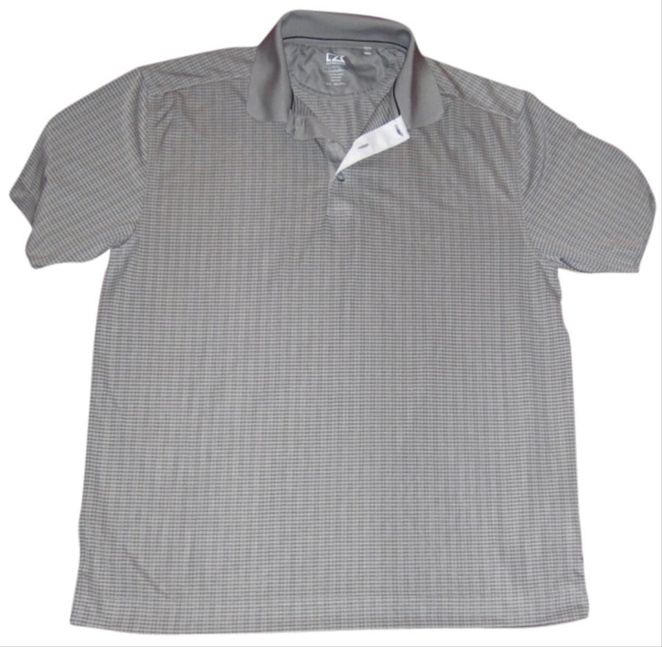 Cutter buck men 39 s cb drytec luxe paul polo size large t for Cutter buck polo shirt size chart