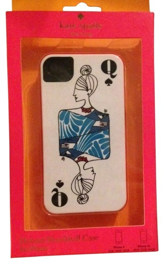 Kate Spade Kate Spade Queen of Spades Premium Hardshell iPhone 4/4S Case Cover