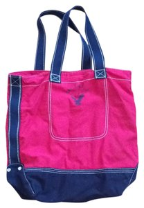 American Eagle Outfitters Tote in Blue and red