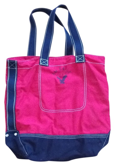 Item - Blue and Red Cotton Tote