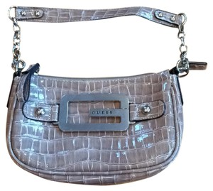 Guess Taupe Clutch