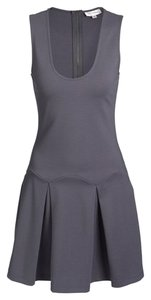 Devlin short dress Gray Flirty on Tradesy
