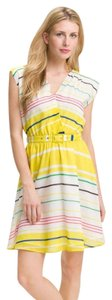 Presley Skye short dress Yellow Spring on Tradesy