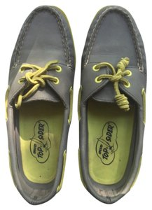 Sperry Grey/Yellow Flats