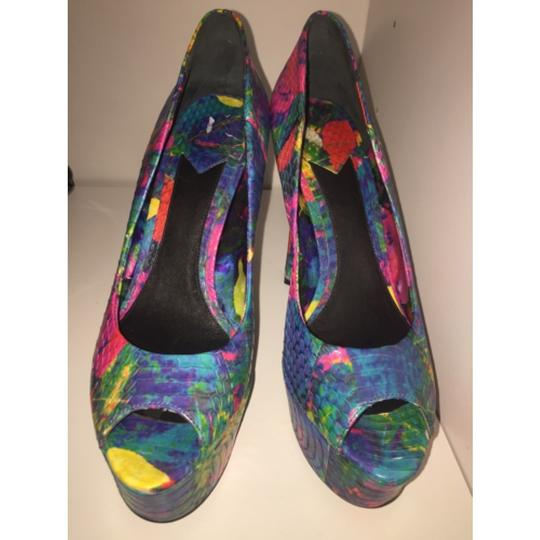 Brian Atwood Multi color Platforms Image 2