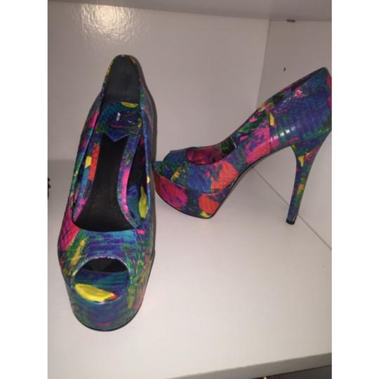 Brian Atwood Multi color Platforms Image 4