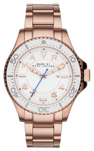 Marc Jacobs Marc by Marc Women's Rose Gold Analog Watch MBM3409