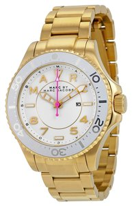 Marc Jacobs Marc by Marc Women's Gold Analog Watch MBM3408