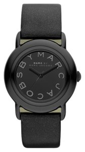 Marc Jacobs Marc Jacobs MBM1186 Black Leather Marci Watch
