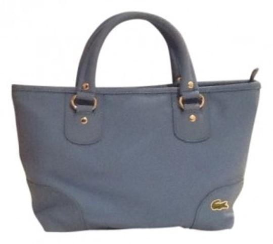 Lacoste Satchel in Cobalt Blue