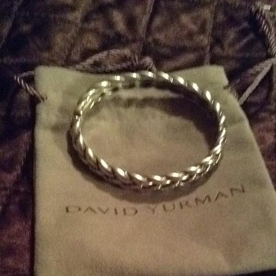 David Yurman David Yurman Braided Sterling Bracelet Image 1