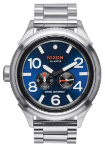 Nixon Nixon Men Silver Analog Watch A474 1258