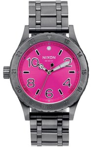 Nixon Nixon Women Gunmetal Analog Watch A410 2096