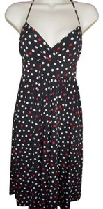Metropark short dress Black/Multi on Tradesy